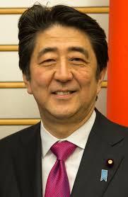 Le Premier ministre japonais, Shinzo Abe